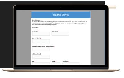 Teacher survey photo