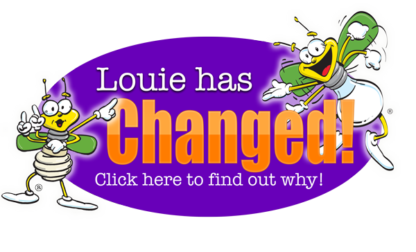 Louie has changed! Click here to find out why!