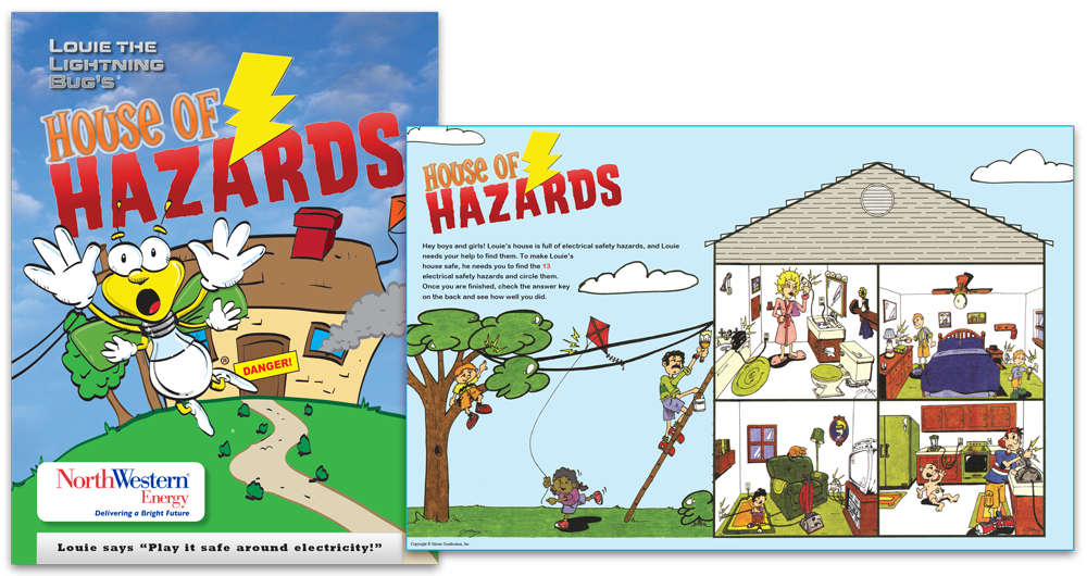 Louie the Lightning Bug's House of Hazards