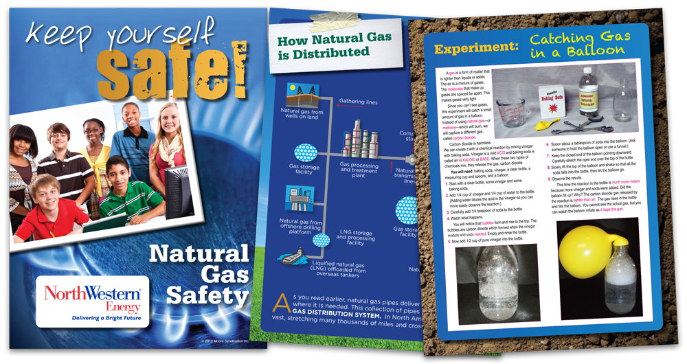 Natural Gas Safety book from NorthWestern Energy