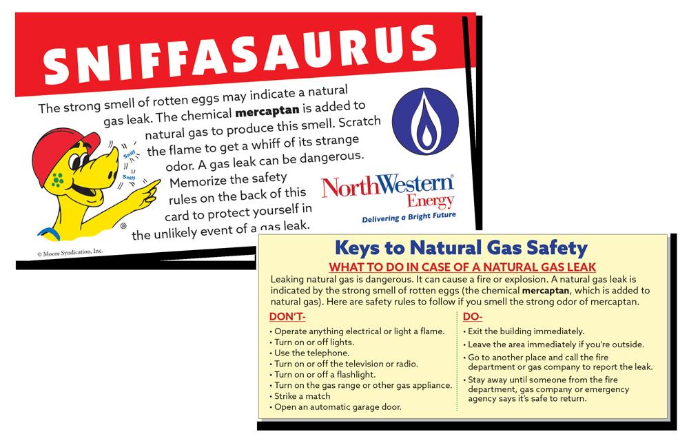 Sniffasaurus Scratch 'N Sniff card