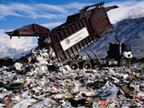 This is a picture of a dump