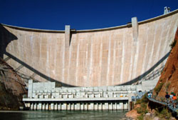 this is a photo of a dam