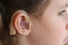 This is a photo of a hearing aid.