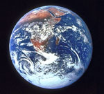 This is a photo of planet Earth.