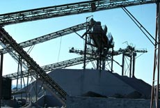 This is a picture of a coalmine.