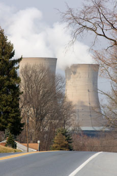 this is a picture of a nuclear power plant.