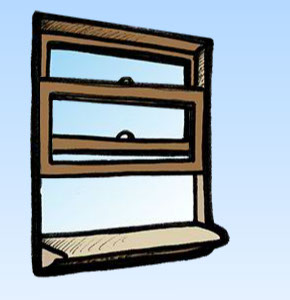 this is an illustration of a window